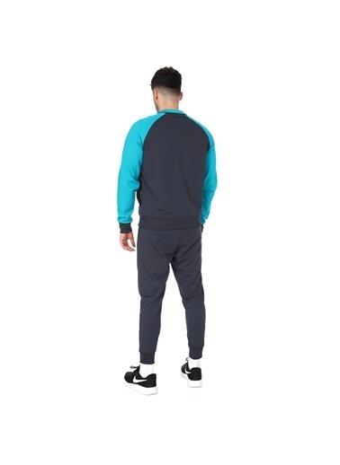 Sportive Spo-Rashmixteam Erkek Siyah Antrenman Eşofman 711378-Syh Gri